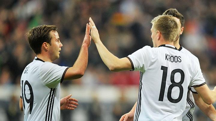 Gotze y Kroos