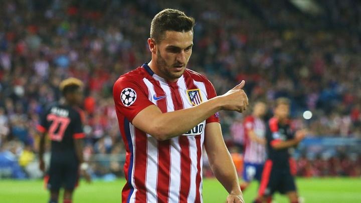 Koke Atlético de Madrid - Bayern