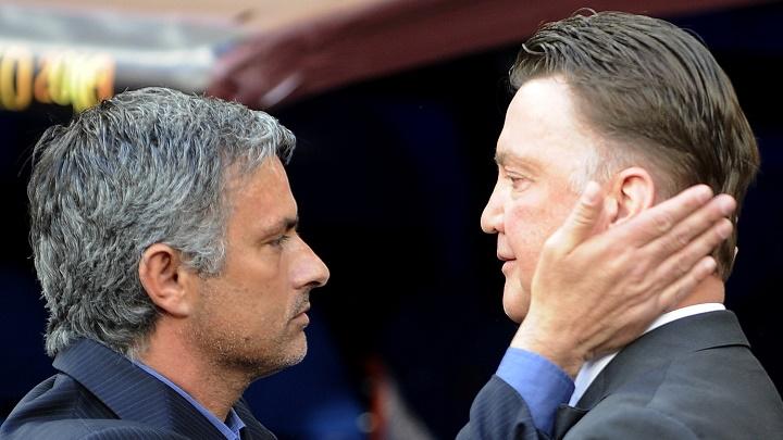 Mourinho y Van Gaal