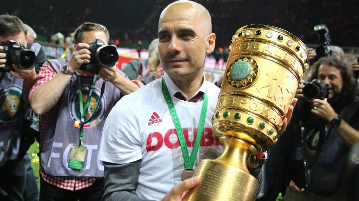 Pep Guardiola DFB Pokal