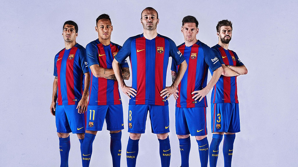 camiseta Barcelona 2016-2017 3