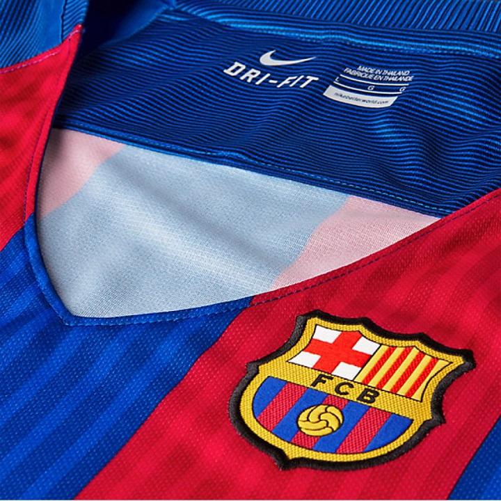 Primera equipación del Barça para la temporada 2016-2017 (9 10) 2f747d5656ef2