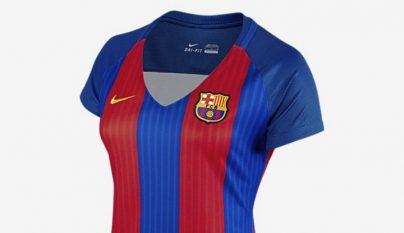 camiseta Barcelona 2016-2017 mujer