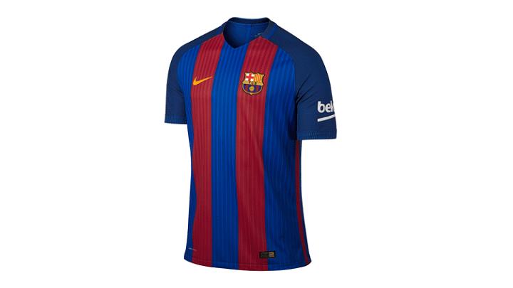 Primera Equipación Del Barça Para La Temporada 2016-2017