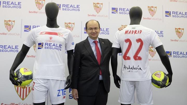 camiseta Sevilla final Copa del Rey