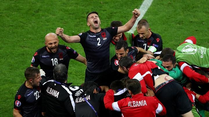 Albania celebracion