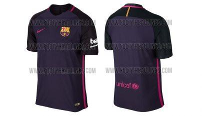 Barcelona segunda equipacion