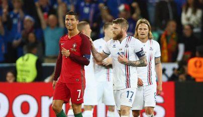 Cristiano Ronaldo y Gunnarsson