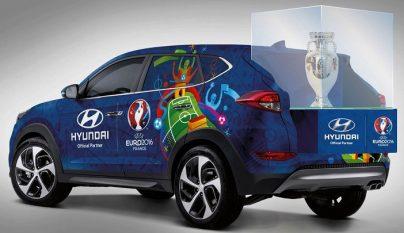 Hyundai Tucson Eurocopa