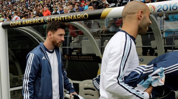 Messi banquillo