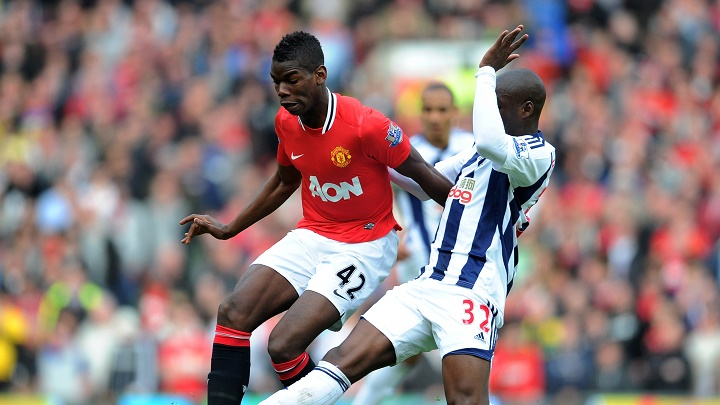 Pogba Manchester - West Brom