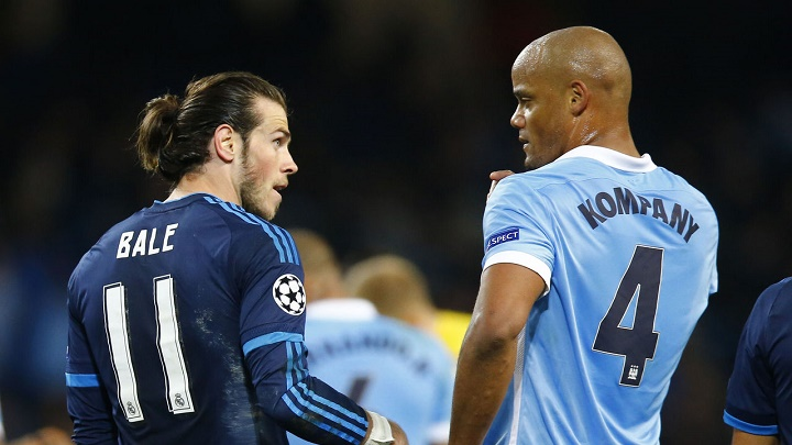 Bale y Kompany