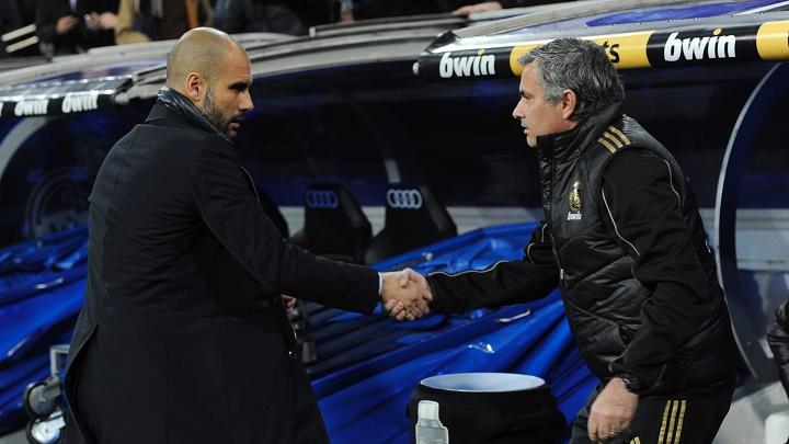 Guardiola y Mourinho