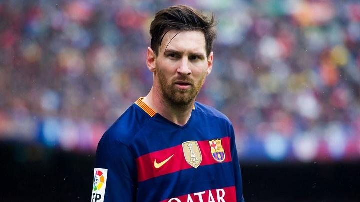 Leo Messi con barba