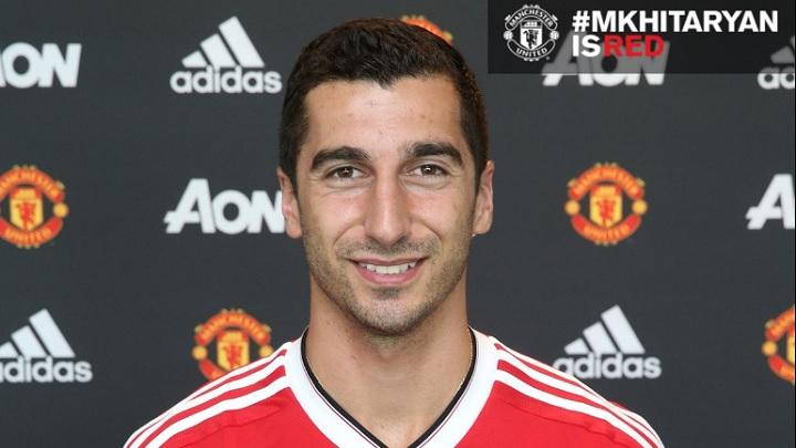 Mkhitaryan Manchester United