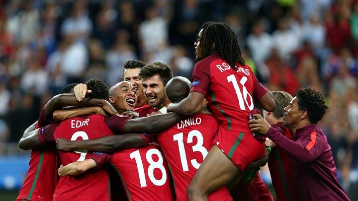 Portugal Euro 2016 celebracion