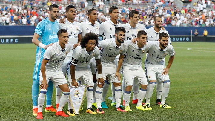 Real Madrid pretemporada
