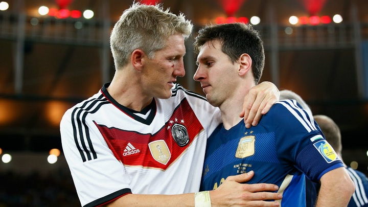Schweinsteiger y Messi