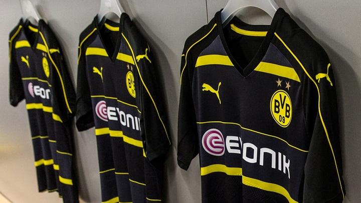 Segunda equipacion Borusia Dortmund 2016-2017 1