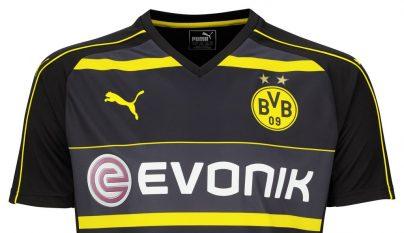 Segunda equipacion Borusia Dortmund 2016-2017 8