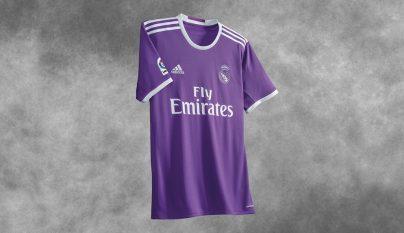 Segunda equipacion Real Madrid 2016-2017 camiseta