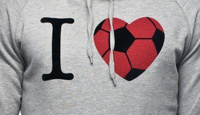 amor por el futbol