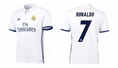 camiseta Real Madrid 2016-2017 Cristiano Ronaldo