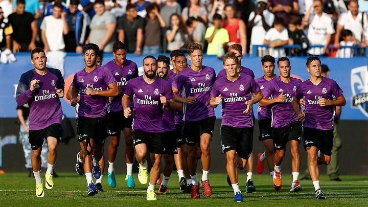 pretemporada Real Madrid