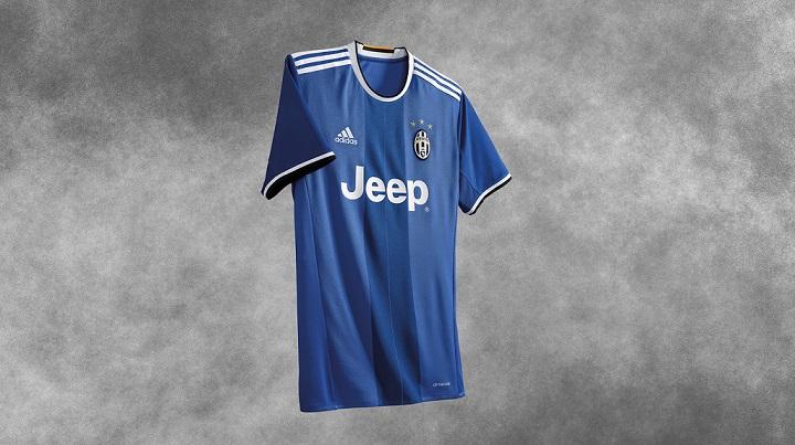 segunda equipacion Juventus 2016-2017