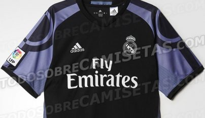 tercera camiseta Real Madrid 2016-2017
