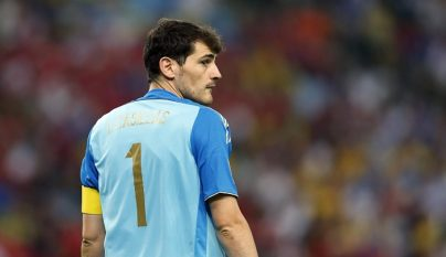Casillas seleccion