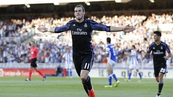 Gareth Bale celebrando su gol