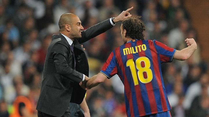 Guardiola y Milito