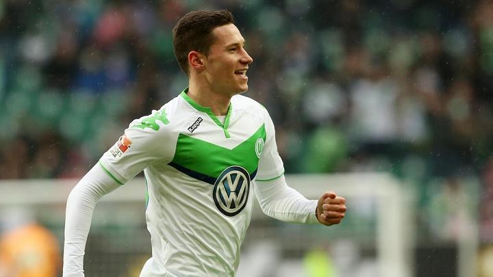 Julian Draxler Wolfsburgo