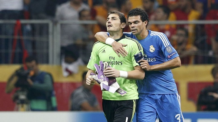 Pepe y Casillas