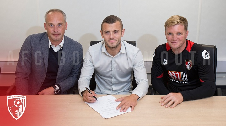 Bournemouth Wilshere firma contrato