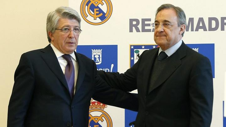 Enrique Cerezo y Florentino Pérez