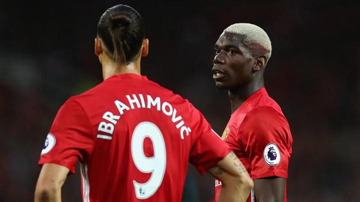 Ibrahimovic y Pogba