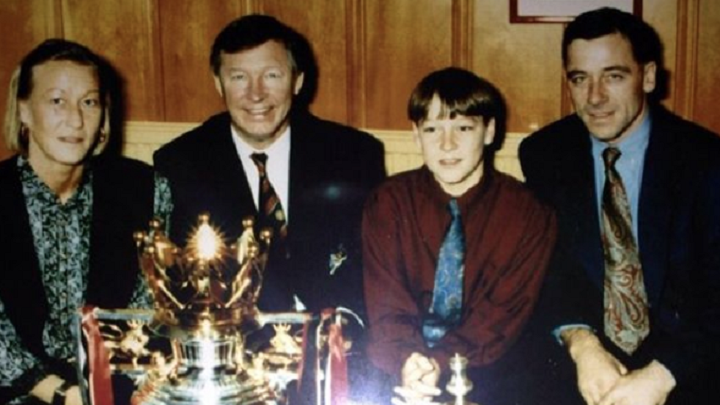 John Terry y Sir Alex Ferguson