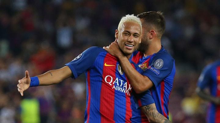 Neymar feliz