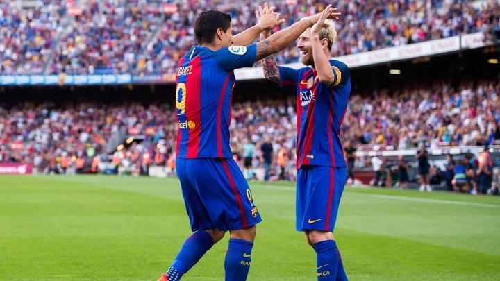 Suarez y Messi