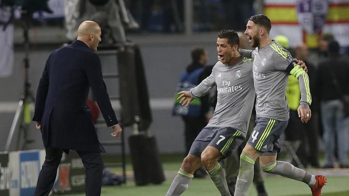 Zidane Ramos y Ronaldo