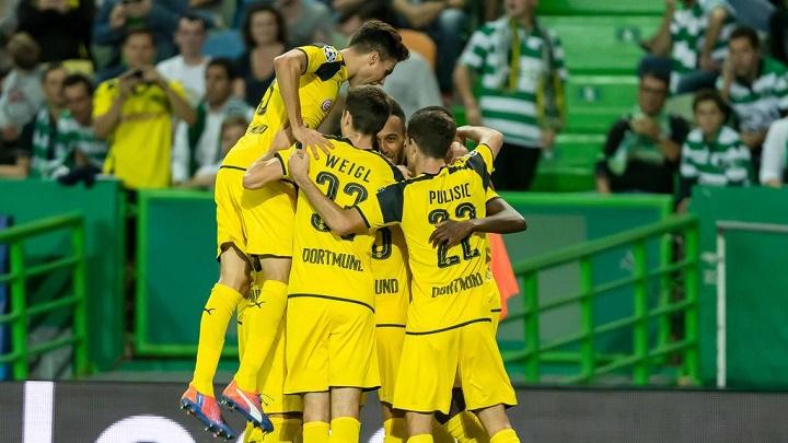 Borussia Dortmund en Lisboa