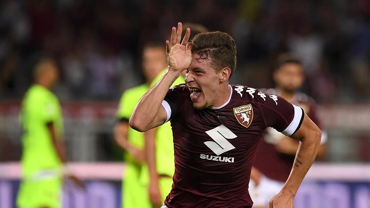 Belotti celebrando un gol