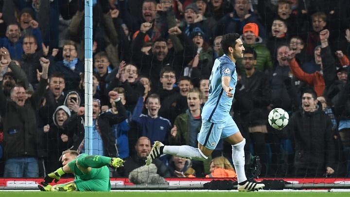 Gündogan celebrando un gol