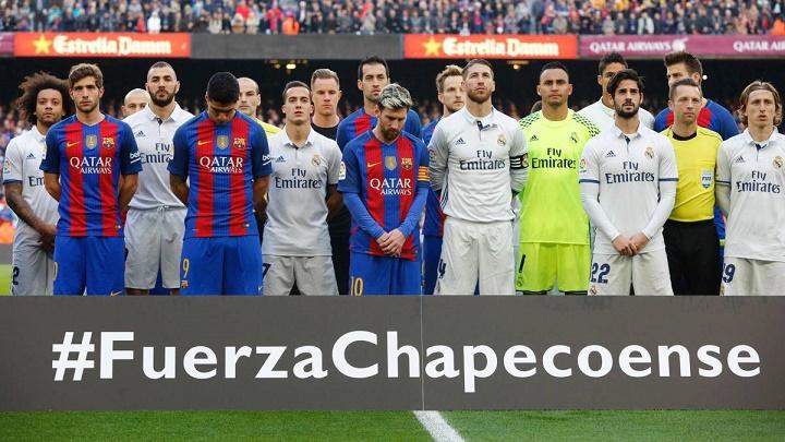 Madrid-Barcelona-Chapecoense