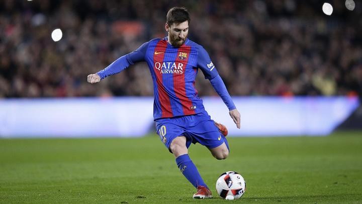 Messi-falta