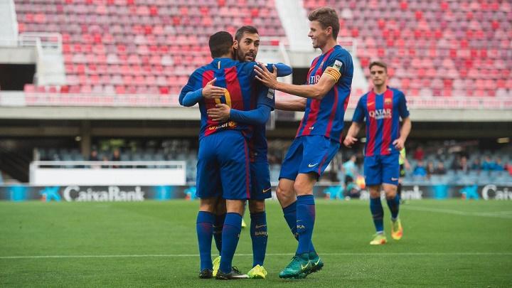 Barcelona-B-Eldense-gol