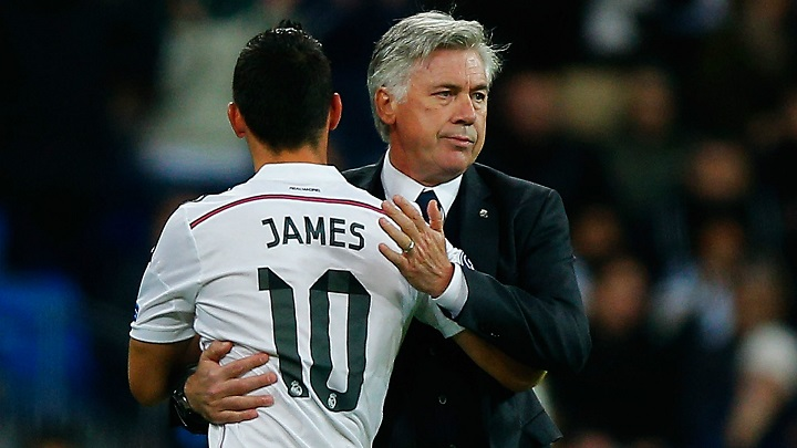 Ancelotti-y-James