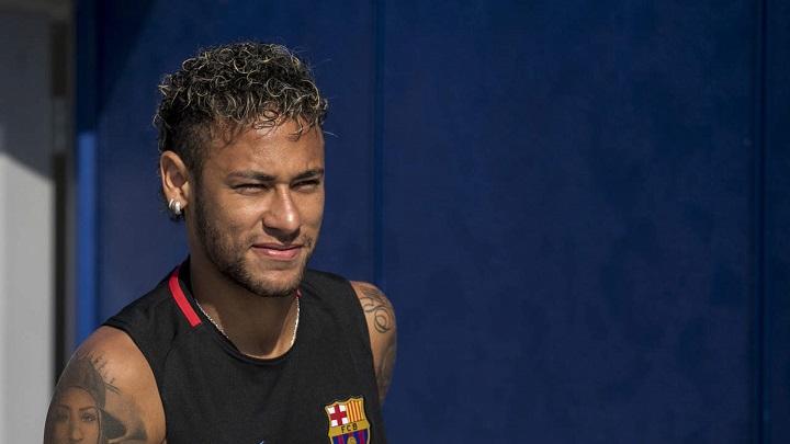 Neymar-entrenamiento